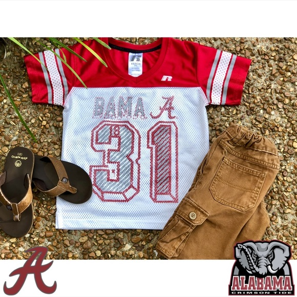 the best attitude d30e9 aed95 🏈Alabama Crimson Tide Football🏈 Youth Jersey